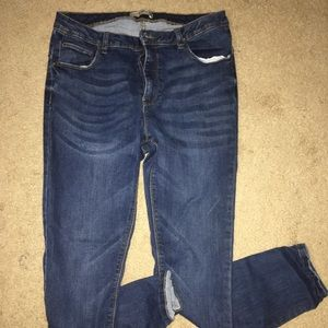 Denim & Co. high waisted jeggings size 14